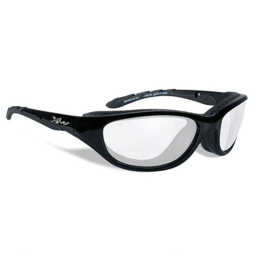 AIRRAGE GLOSS BLACK CLEAR LENS