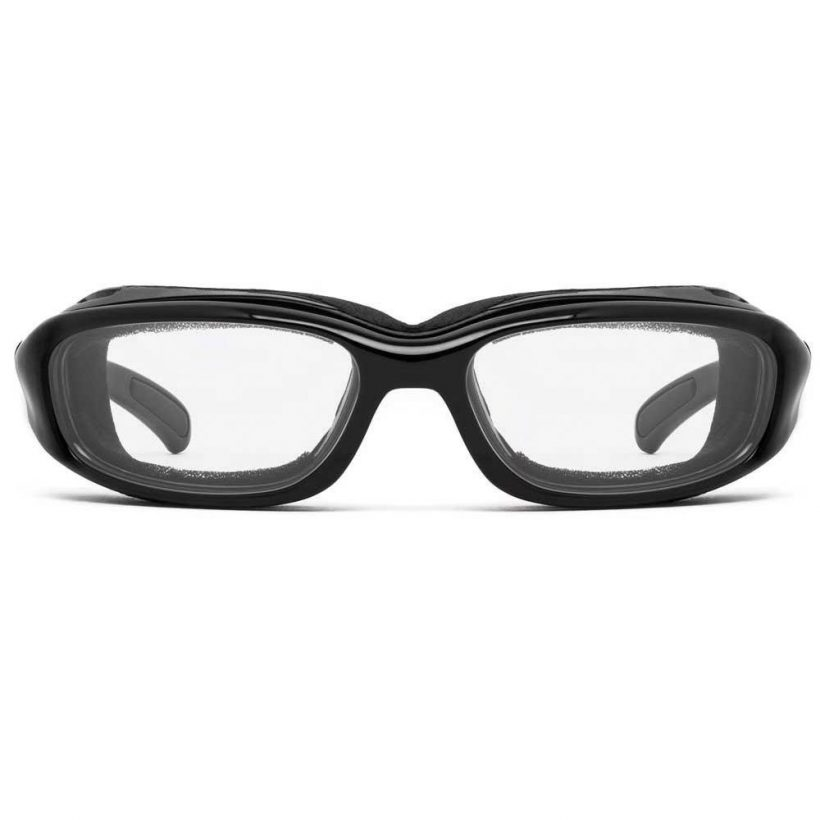 Churada Glossy Black Clear Front
