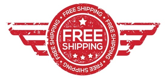 , Free Shipping on orders over