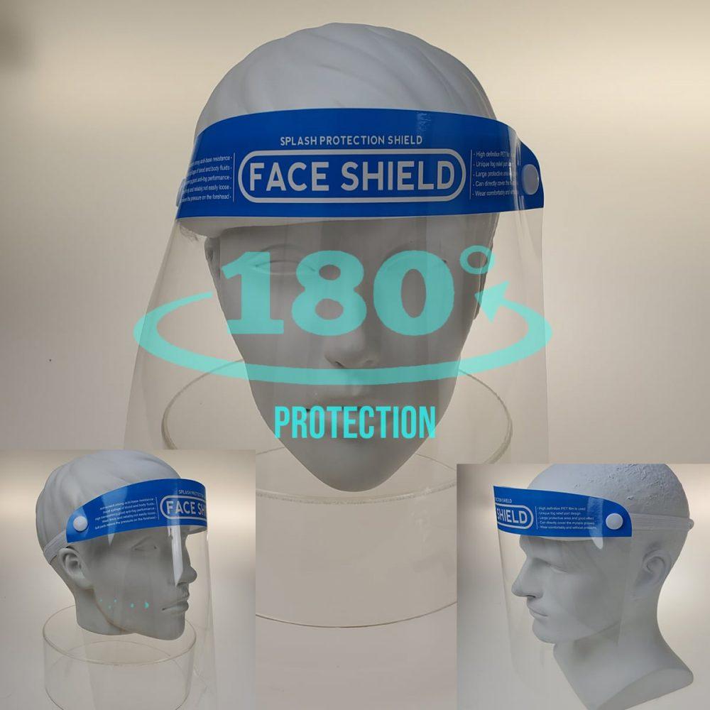 Bikershades.Face Shield Mask Protection Transparent