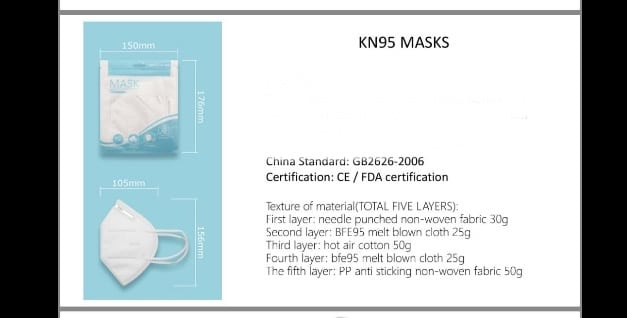 Bikershades.com N95 Face Mask