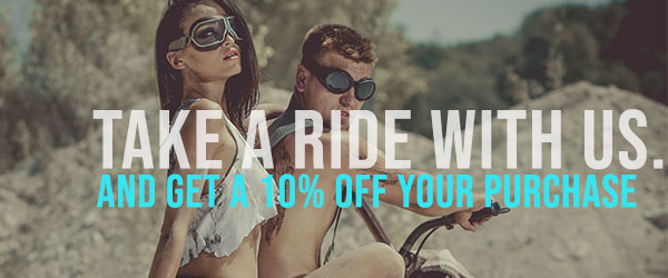 Bikershades.com 10% off Coupon Code Sign Up Home Page