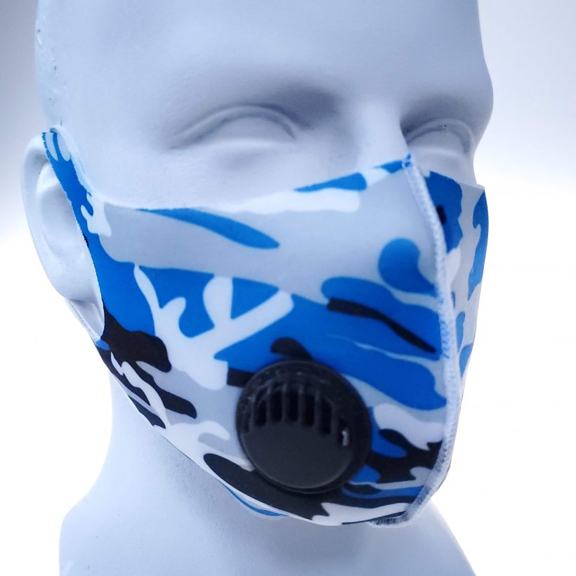 face mask camouflage color reusable ventilator bikershades.com